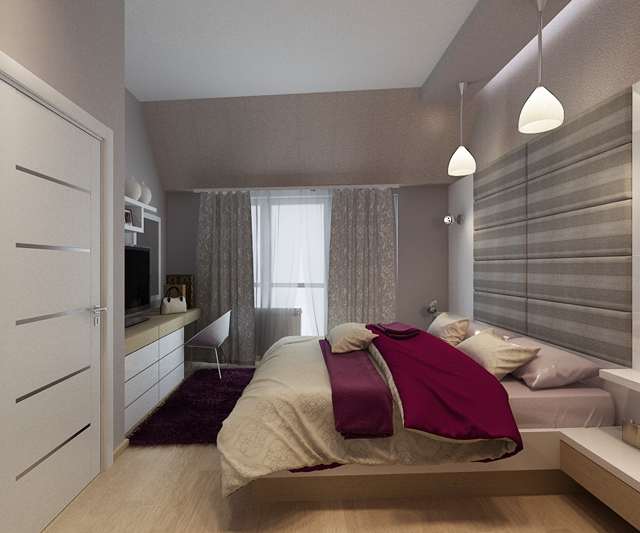 Проекти на спалня и детска стая в апартамент в София