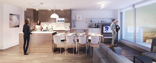 Кухнята се превръща в голяма трапезария