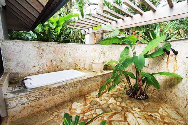 Ваната в градината - източник на добри емоции