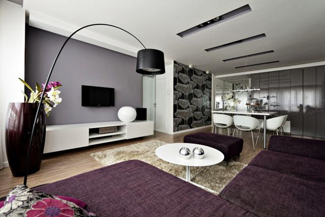 Интериор на малък апартамент в Белград