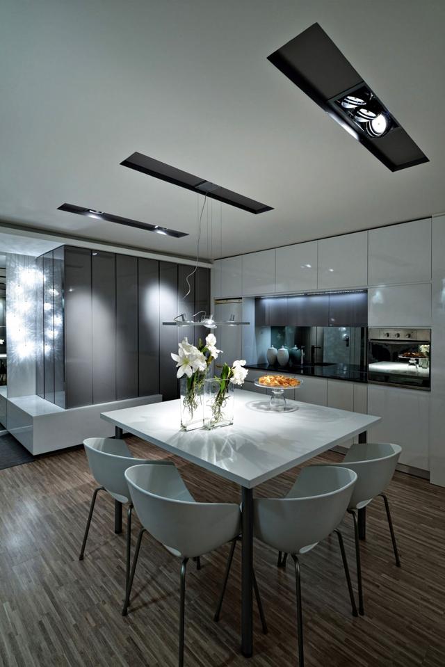Кухнята и къта за хранене