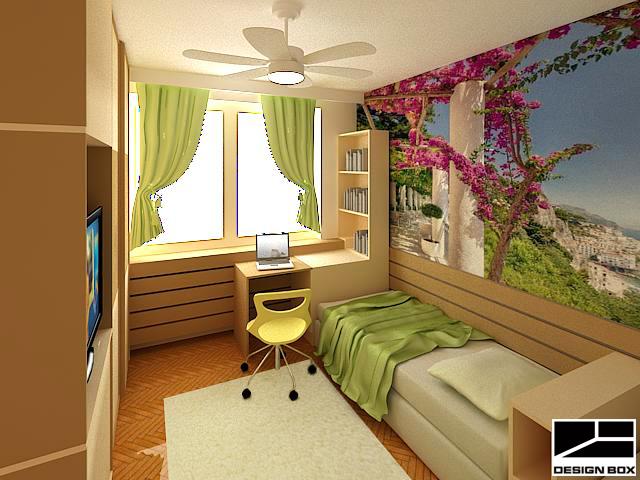 Детска стая с работен кът