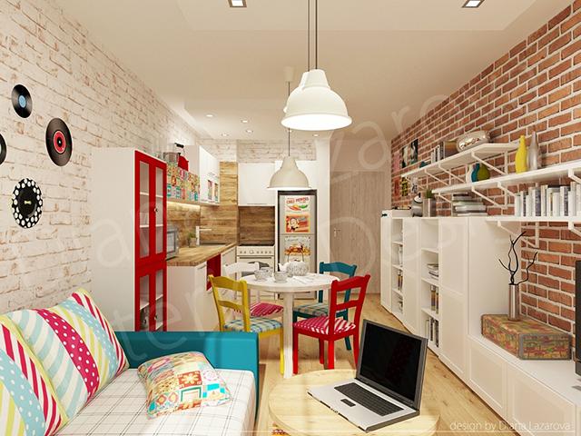 Интериорен проект за реконструкция на апартамент