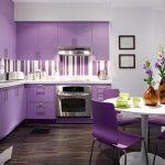 Теменужено лилаво в кухнята