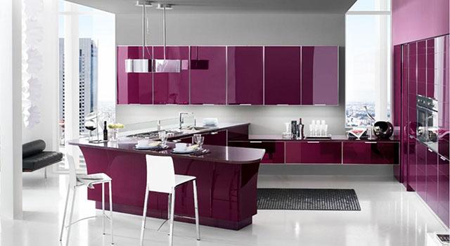 Пурпурно лилаво