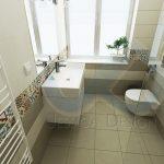 """Тоалетната чиния e от колекцията """"Washpoint"""", също на Ideal Standard."""