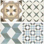 Плочи с декоративни елементи - размер 20х60 см
