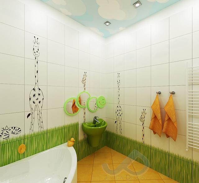 Как банята се превърна във весел зоопарк…