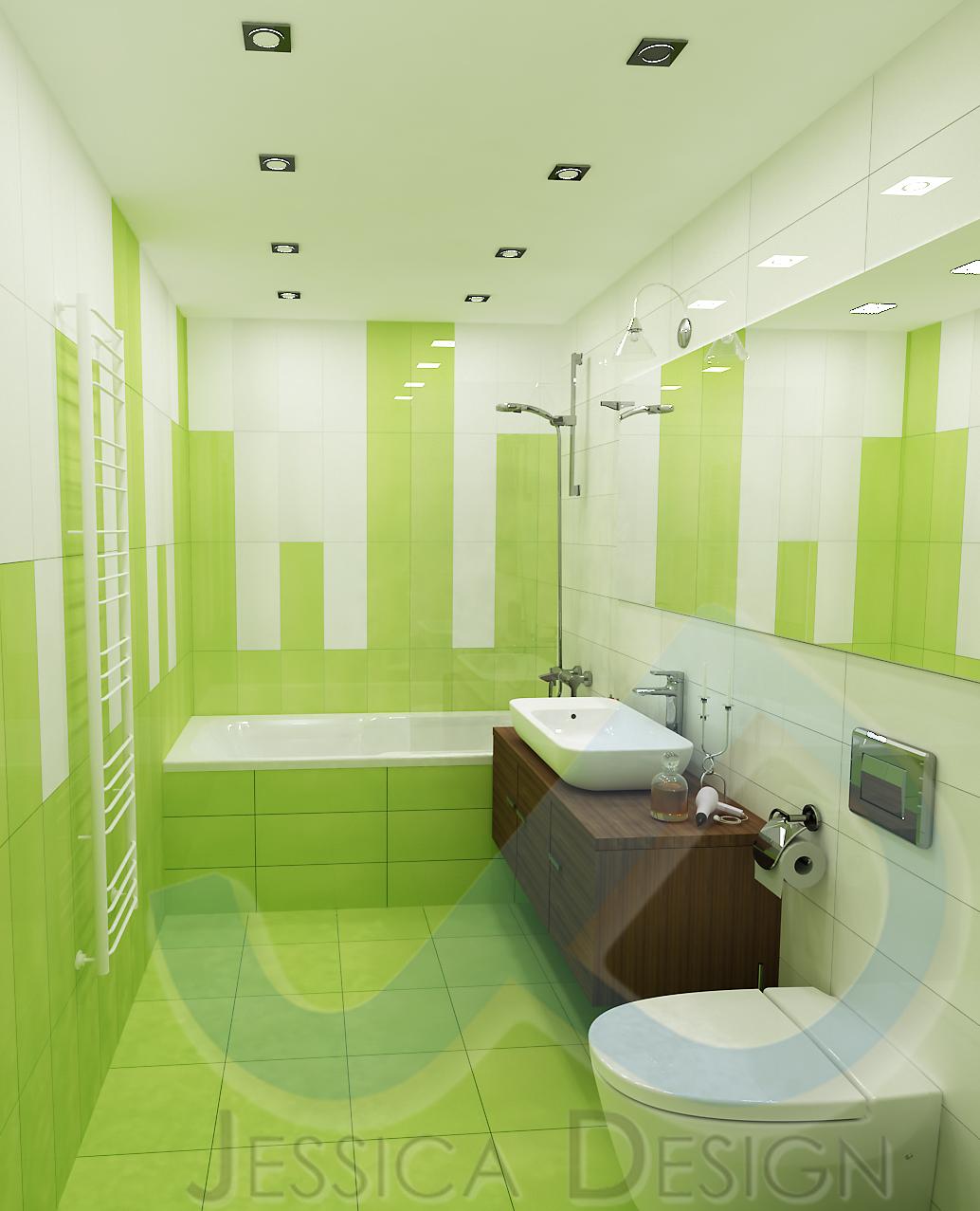 Зелено + бяло = свежест и настроение!