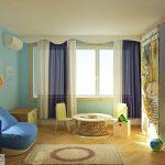 Детска стая като каюта на морски капитан