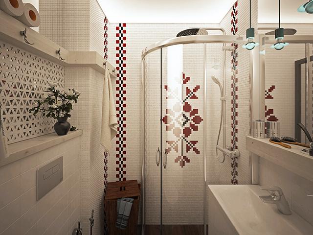 Един различен поглед към малка баня – 2 кв.м