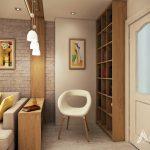 Мини-библиотека в къта за четене