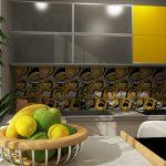 Кухня с акценти в жълто