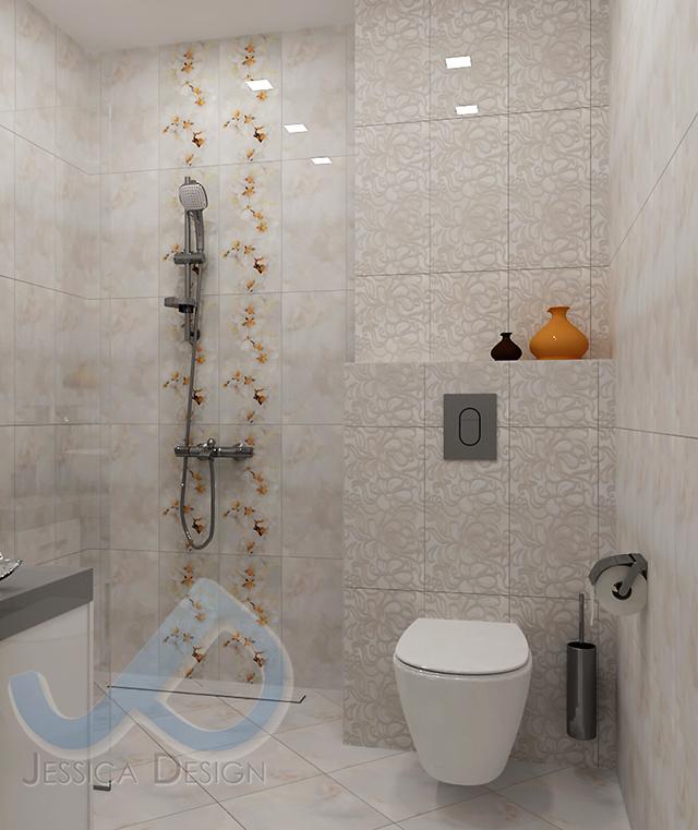 WC с вградена арматура