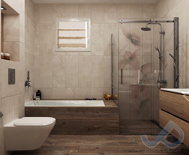 Цветя и нежност превземат банята!