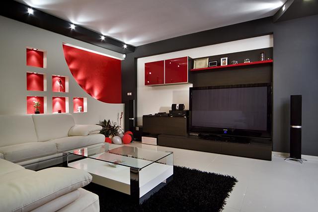 Червено като страст, бяло като нежност и черно за контраст