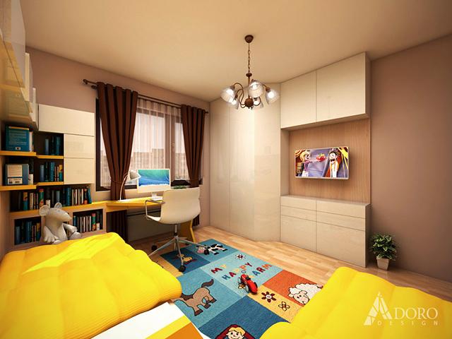 Детска стая за момиче и момче