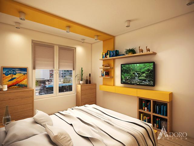 Интериор на основна спалня