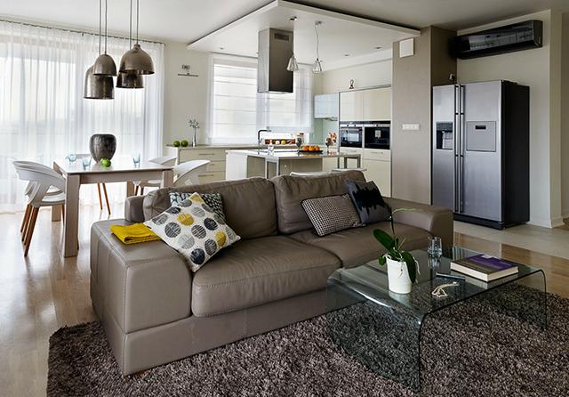 Интериор на апартамент с една спалня в гр. Краков