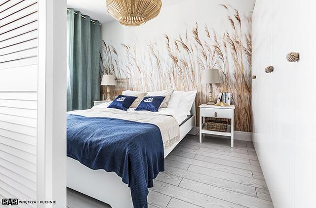 Декорация с морски мотиви в спалнята