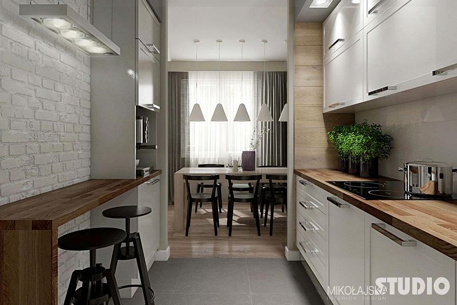 Интериор на апартамент в скандинавски стил