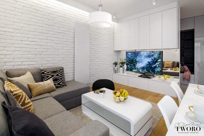 Интериор на апартамент 88 кв.м