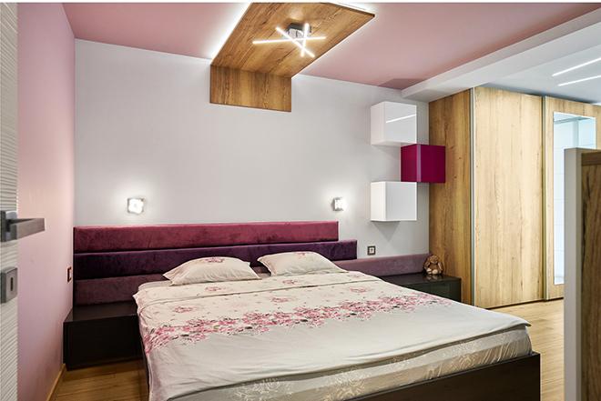 Апартамент 60 кв.м - спалня