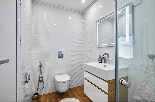 Апартамент 60 кв.м - баня