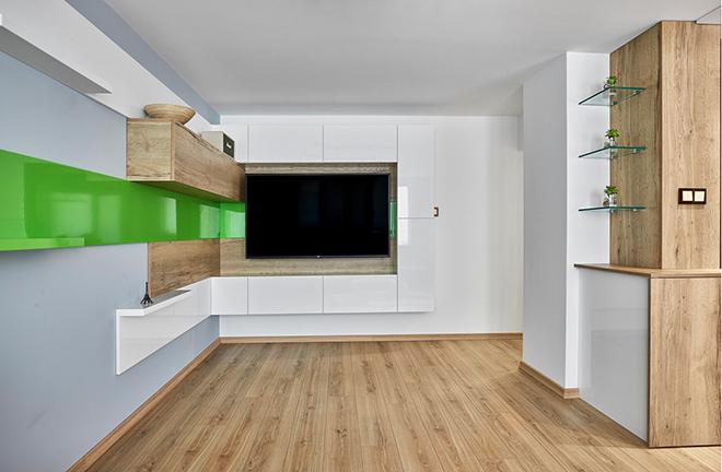 Апартамент 60 кв.м - дневна
