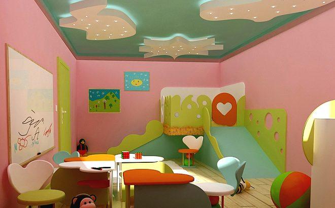 Интериорен проект за обзавеждане на детска стая