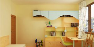 Интериорен проект на детска стая за 2 морячета