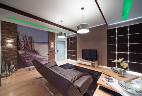 Интериорен дизайн на апартамент в Калининград
