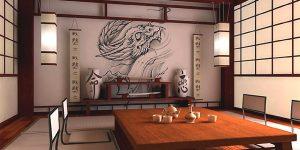 Интериорни решения в японски стил