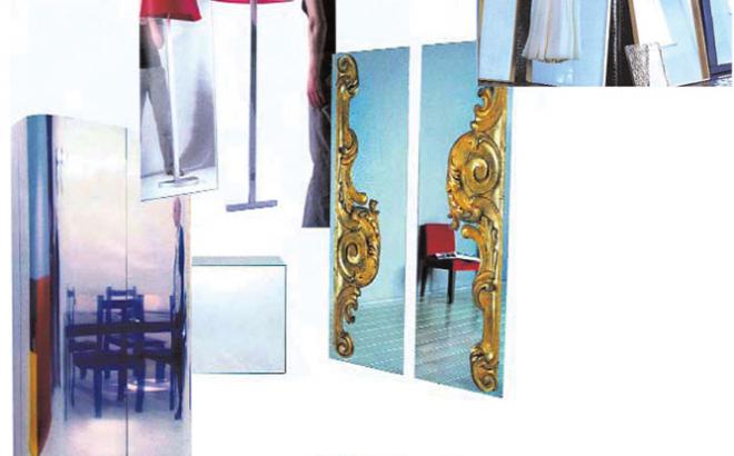 Огледалото в интериора