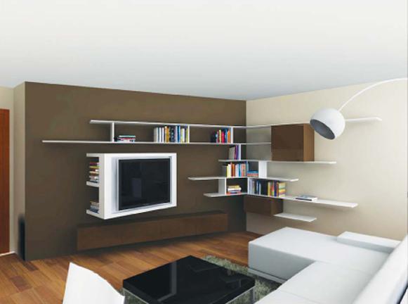 Интериорен проект на комфортен съвремен апартамент