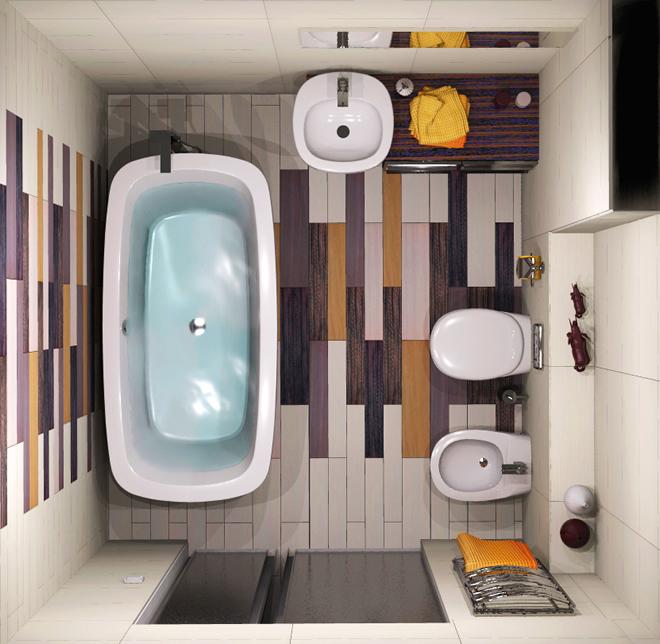 Интериорен проект на баня
