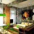 Интериорен проект на апартамент 60 кв.м в гр. Шумен
