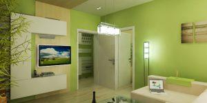 Интериорен проект на апартамент с площ 45.84 кв.м
