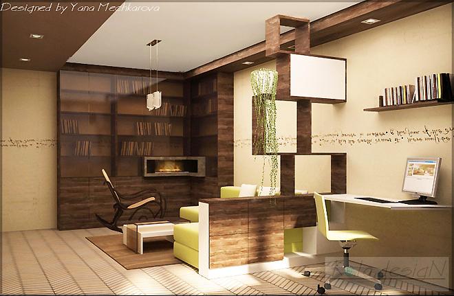 Интериорен проект за ремонт на апартамент 90 кв.м