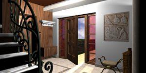 Проект за екстериорна и интериорна реконструкция на еднофамилна къща в Троянския Балкан
