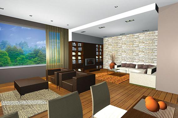 Интериорен проект на двуетажна къща в гр. Банкя