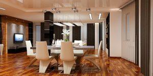 Интериорен проект на апартамент 160 кв.м