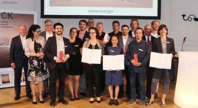 8-то издание на  Wienerberger Brick Award 2018 отличи своите победители