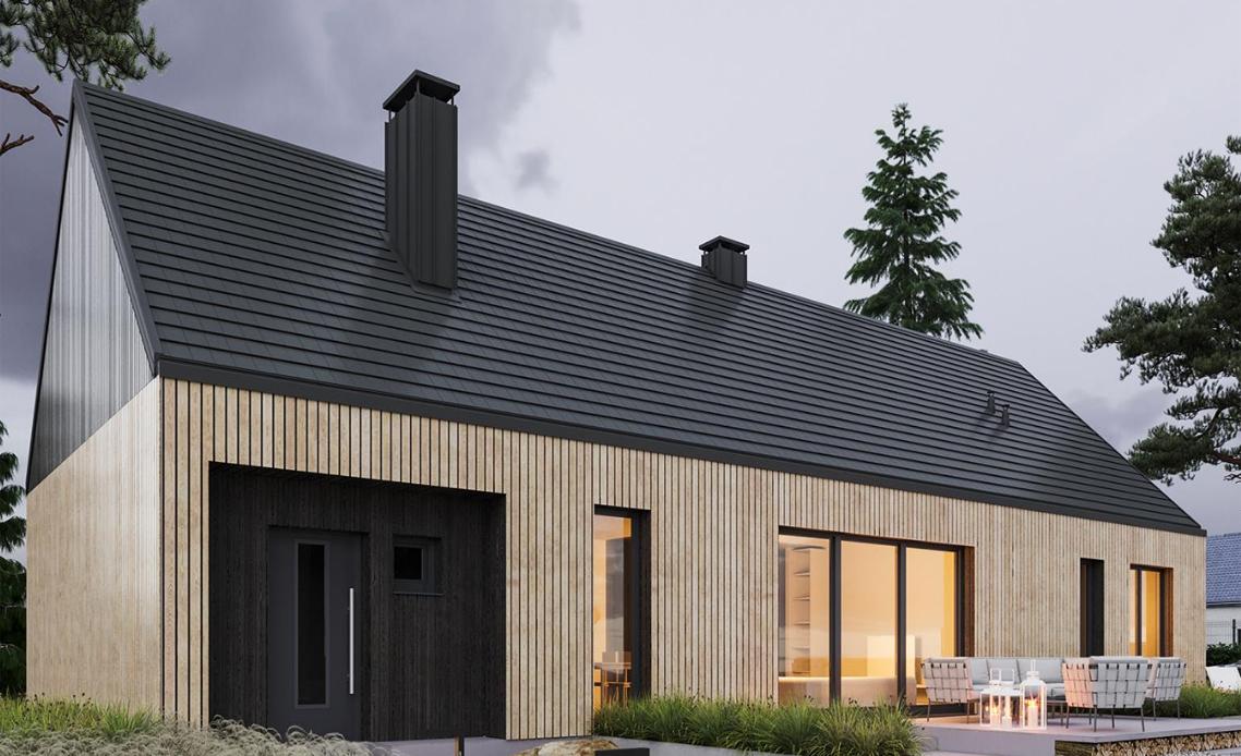 Покривна система Ruukki Hyygge - семплата формула за домашен комфорт и щастие!
