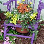 """Инсталация"" в романтично лилаво..."