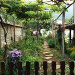 Градината край къщата на Алекс Алипиев - с. Паволче