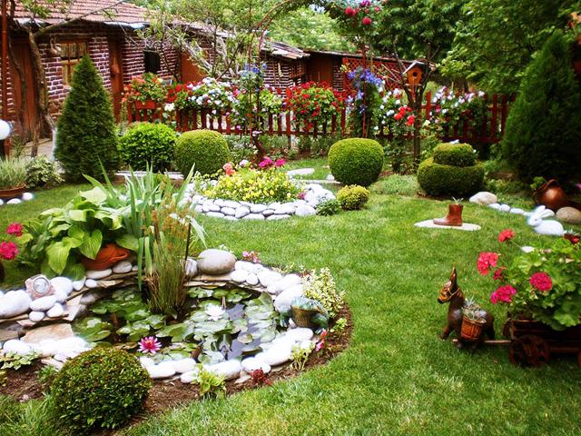 Градината на Нели Рангелова - с. Рупките - 1