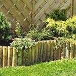 Палисадите се използват и като подпора за растенията