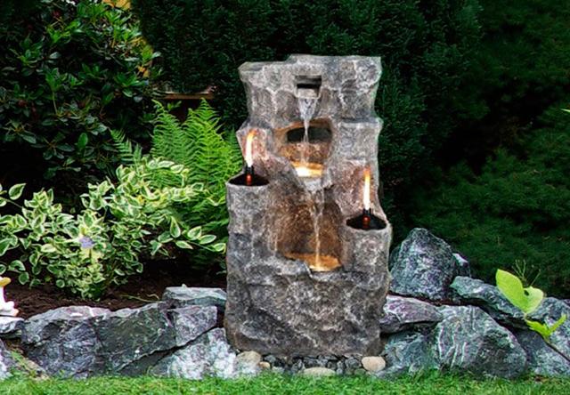 Каменен фонтан
