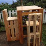 Висок бар-плот и столчета